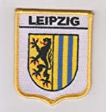 Leipzig Wappen Flagge Germany World bestickt Patch Badge