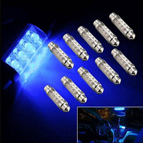 Gladle Ice Blue 42mm Festoon LED Lights Lampadaires intérieurs