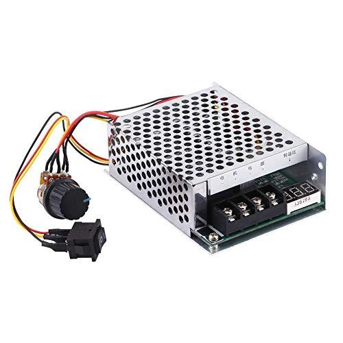 HYY-YY 10V-55V DC PWM Controller with Reversing Direction Switch Digital Display Motor Speed Controller Regulator Module