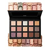 Milani Gilded Nude Hyper Pigmented Eyeshadow Palette - 15 Natural Looking Makeup Eyeshadow Colors for Your Everyday Look