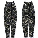 Pantalones de Ropa de Calle de Verano para Hombre, Pantalones Multibolsillos para Decorar elásticos,...
