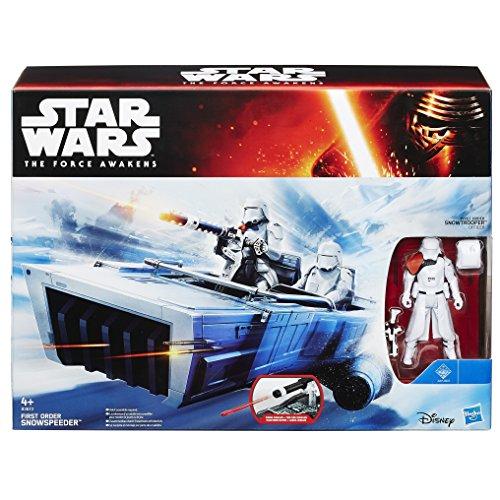 Hasbro  B3673360  - Star Wars E7 Class II Fahrzeug First Order Snowspeeder