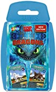 Entertaining educational card game loved for bringing your favourite Dragons to life Play Top Trumps anytime, anywhere, with as many people as you like Find out who has the higher firepower - Toothless or Skrill, who has the highest speed - Light Fur...