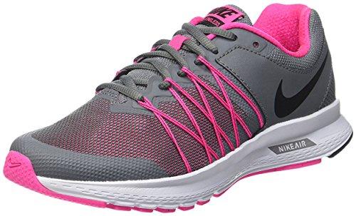 Nike Women's Air Relentless 6 Running Shoe #843882-002,Cool Grey/Black-pink Blast-white, 10 B(M) US