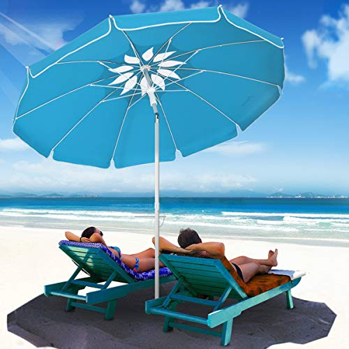 MOVTOTOP Beach Umbrella UV 50+