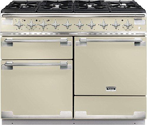 Falcon Elise 110 Range Cooker Gasherd, cremefarben – Ofen und Herd (Herd, Creme, drehbar, vorne, Gasherd, emaillierter Stahl)