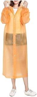 RkYAO Rain Poncho for Unisex Waterproof Reusable Lightweight Raincoat