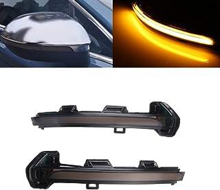 2 x intermitentes LED de espejo intermitentes intermitentes din/ámicos de marcha intermitentes laterales V-172405