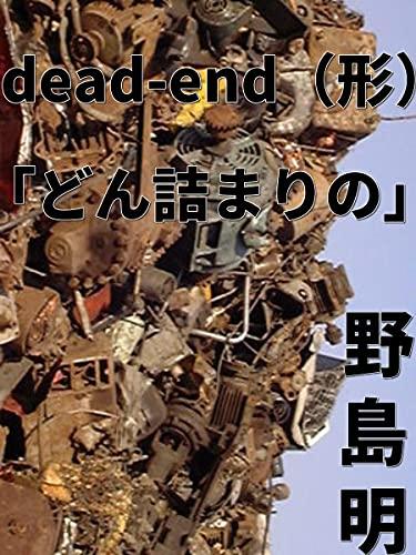 dead-end(形)「どん詰まりの」
