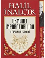 Osmanlı İmparatorluğu Seti 2 Cilt - Kutulu (Ciltli): 1- Toplum ve Ekonomi 2- Sultan ve Siyaset