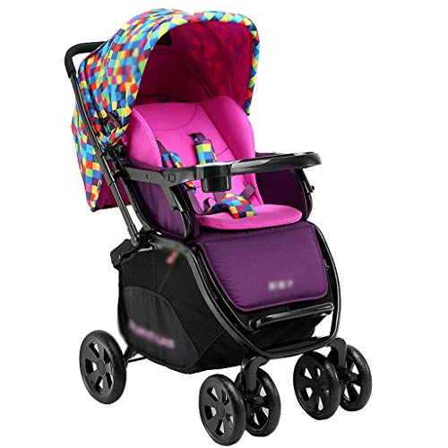 Sale!! Pushchairs Prams Lightweight Stroller High Landscape Can Absorbers Children Folding Sit Recli...