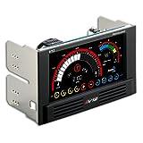AeroCool タッチパネルファンコントローラー V12XT Touch Panel EN55369