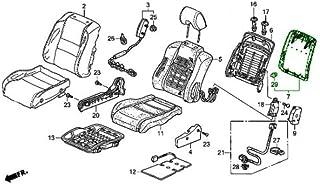 Right Honda Genuine 82131-SWA-A01ZA Seat Cushion Trim Cover Rear