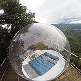 Aufblasbare Bubble Camping Zelt Eco Home Bubble Zelt Haus -Transparente 360 ° Panoramakuppel...