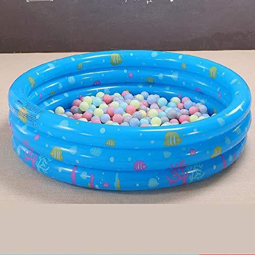DAYUAN Piscina Desmontable,Piscina Inflable, Mini Piscina Infantil-Blue_100cm,Piscina Hinchable para Plegable Diametro