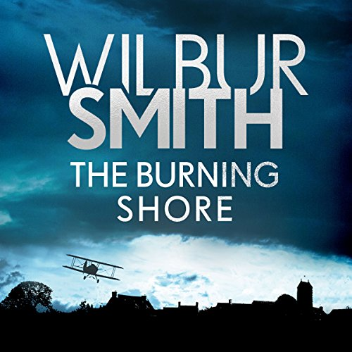 The Burning Shore audiobook cover art