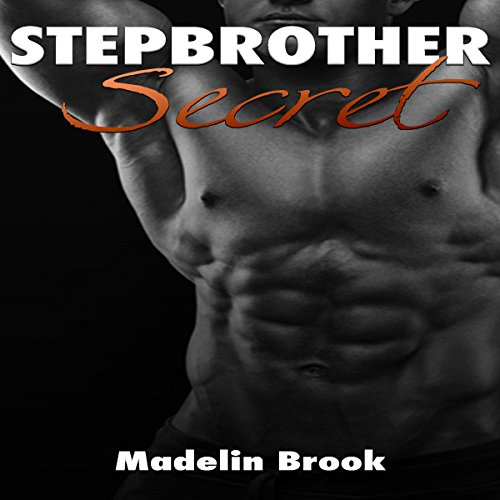 Stepbrother Secret audiobook cover art