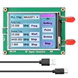 Mogzank ADF4351 35-4400M Placa Generadora de Fuente de Seeal RF Control de PC Pantalla de Contacto de Frecuencia de Salida Tipo-C y SMA Hembra