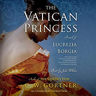 The Vatican Princess audiobook cover art