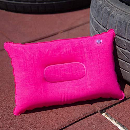 N\C Portátil viaje inflable almohada al aire libre camping almohada al aire libre camping Mat suave para senderismo dormir equipo camping