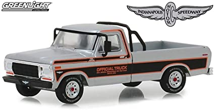 1979 Ford F-100 Pickup Truck, 63rd Annual Indianapolis 500 Mile Race Official Truck - Greenlight 29979/48 - 1/64 Scale Diecast Model Toy Car