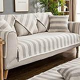 LTHDD Funda de sofá de color sólido, fundas de sofá de algodón, minimalista, contemporáneo, tapizado, acolchado, protector de muebles de sofá de uso general, 1 pieza C de 24 x 24 pulgadas