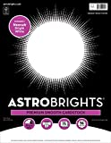 Astrobrights/Neenah Bright White Cardstock, 8.5' x 11', 65 lb/176 gsm, White, 75 Sheets (90905-02) - Packaging...