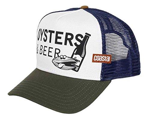 COASTAL Homme Casquette de Camionneur - Oysters (white) - Trucker Cap