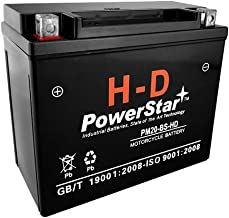 PowerStar replaces Real Ryders Motorcycle Battery for Harley-Davidson 1340cc FXST/FLST Softail 1988