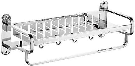 CBXSF Edelstahl 304 R Mit Platte Handtuchhalter Handtuchhalter Wc Slechte Doppelhandtuchhalter