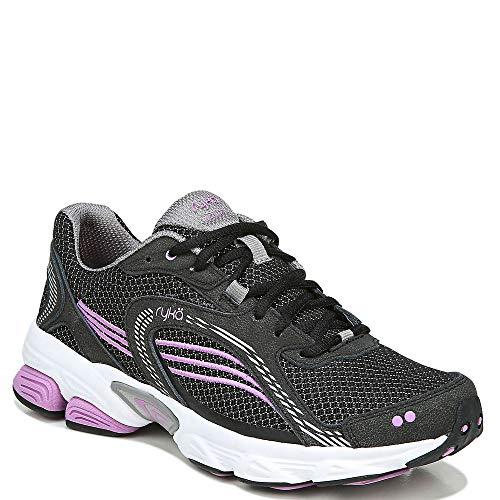 Ryka womens Ultimate Running Shoe, Black, 8.5 US