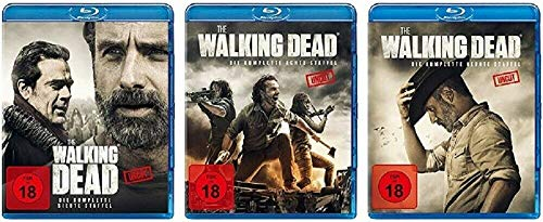 The Walking Dead Staffel 7-9 (7+8+9, 7 bis 9) Uncut [Blu-ray Set]