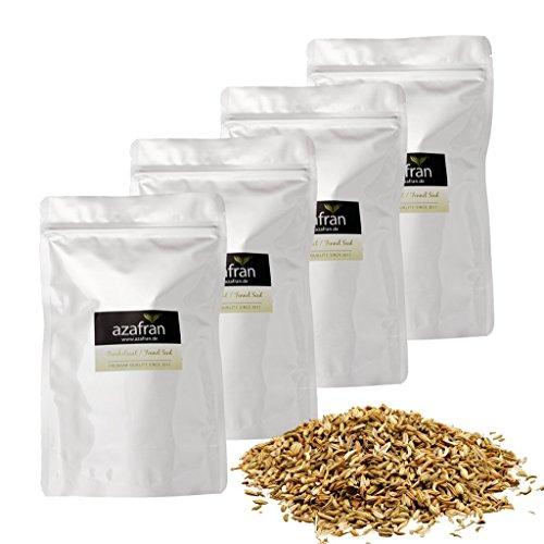 Azafran BIO Fenchel Gewürz ganz (süß) Fenchelsamen / Fenchelfrüchte 1kg