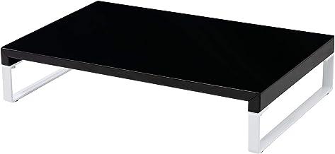 LIHIT LAB Desktop Stand, 9.8 x 15.4 x 3.1 inches, Black