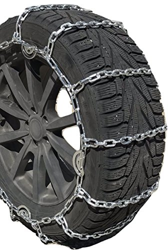 TireChain.com 275/70R18LT, 275/70-18 LT 5.5mm Square Tire Chains, One Pair.