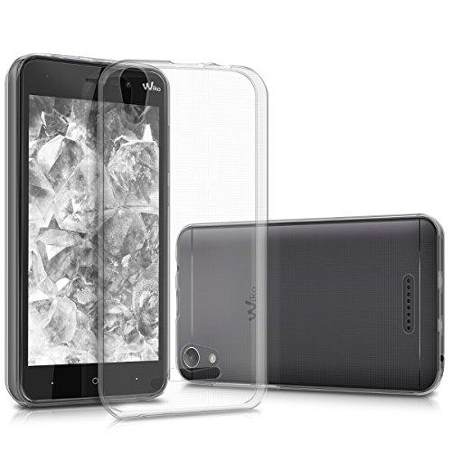 kwmobile Hülle kompatibel mit Wiko Lenny 4 - Silikon Handyhülle transparent - Handy Hülle in Transparent