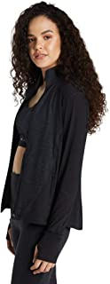Rockwear Activewear Women's Balance Seam Detail Jacket Charcoal 14 from Size 4-18 Jackets + Vests for Tops