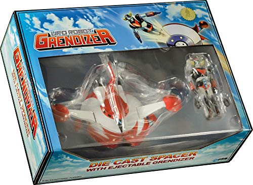 High Dream Goldorak-UFO Grendizer-Replica Piattino Die Cast Saper con robot espulsibile, 15 cm, IDGOL20TH, collezione 15 centimetri