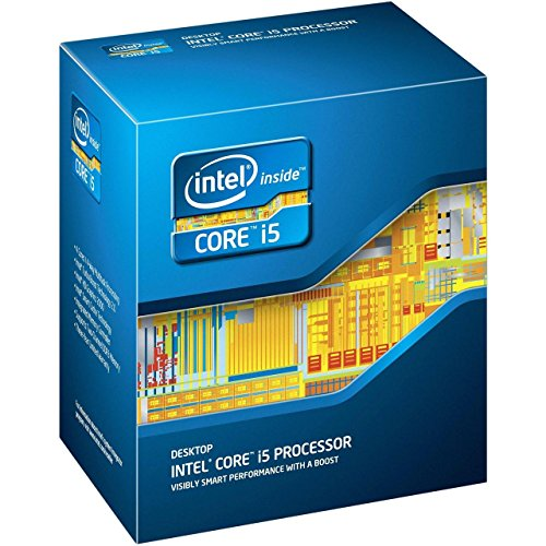 Intel Core i5 4670 Quad Core Retail CPU (Socket 1150, 3.40GHz, 6MB, Haswell, 84W, Graphics, BX80646I54670, 4th Generation Core, Turbo Boost Technology 2.0)