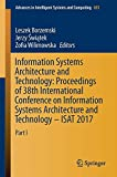 Information Systems Architecture and Technology: Proceedings of 38th International Conference on...