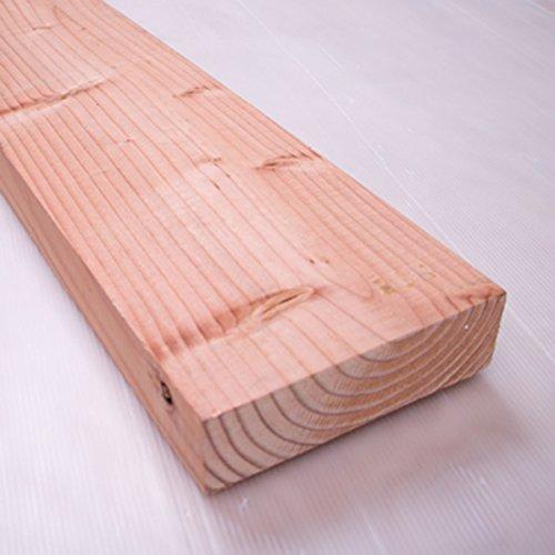 川島材木店 米松足場板 18cm x 5cm x 200(199)cm 厚い板