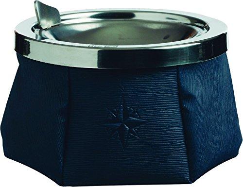 Marine Business 30101 Posacenere antivento, colore: Blu navy con design elegante, in acciaio inox, multicolore