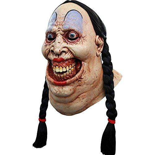 Máscara integral mujer fuerte maléfica - Única