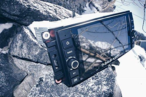 Insane Audio JK2001 2007 to 2017 Jeep Wrangler JK Perfect Factory Fit Multimedia Bluetooth Receiver...