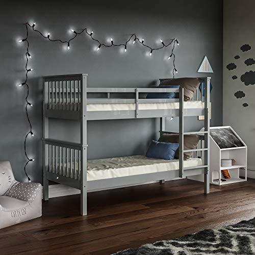 Vida Designs Milan Twin Bunk Beds