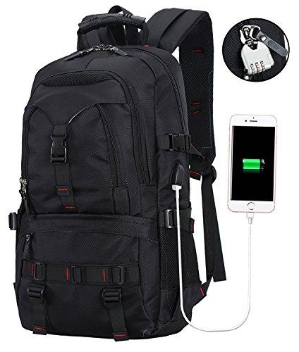 BTOOP Laptop Backpack Business Anti Theft Travel Backpacks USB Port fit School Hiking