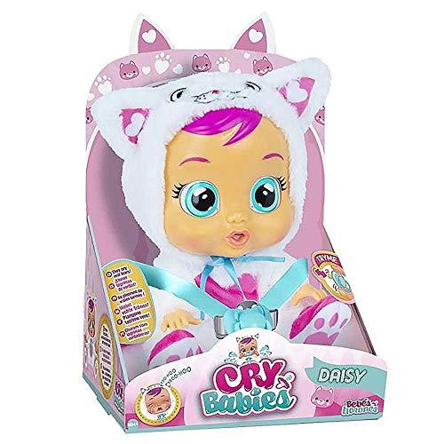 Boneca Crybabies Daisy Com Chupeta, Alimentação 3 Pilhas AA Indicado Para +4 Anos Multikids - BR1180