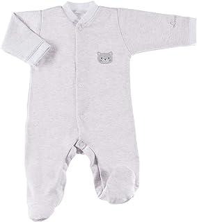 Ewa Klucze True Love Baby Strampler für Mädchen Jungen Unisex Langarm - Grau Beige Rosa Blau Weiß - 100% Baumwolle - Größen: 50/56/62/68