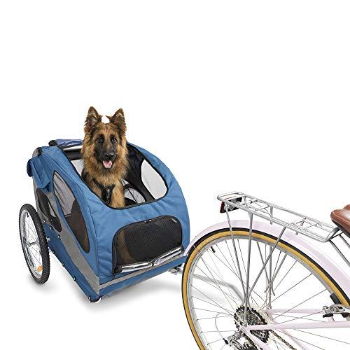 PetSafe Bicycle Trailer, Large, Aluminum