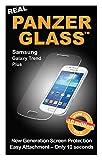 Panzer Glass PG1032 - Protector de pantalla de cristal resistente a rasguños y líquidos compatible con Samsung Galaxy Trend Plus